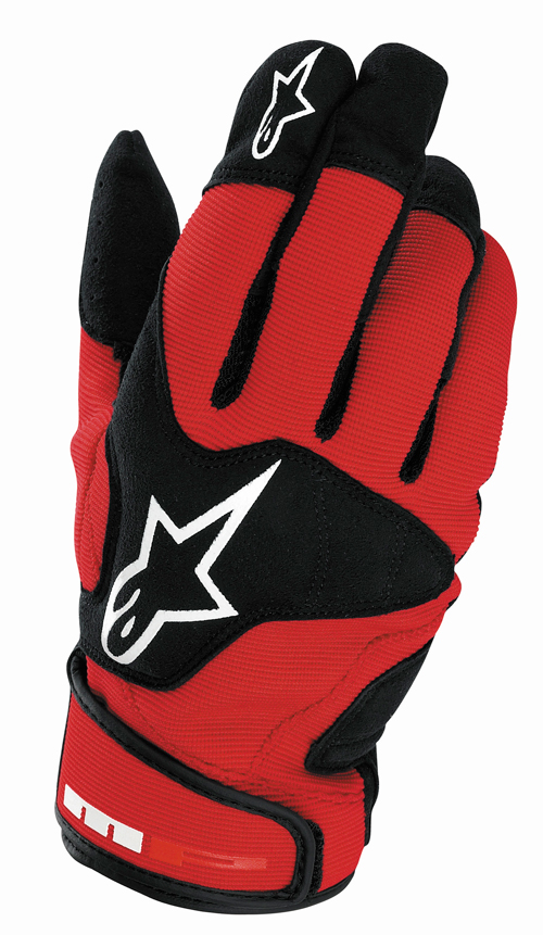 Alpinestars MP 2 summer gloves red