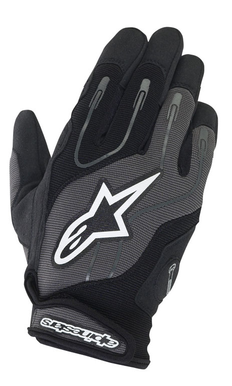 ALPINESTARS Engine summer gloves col. black