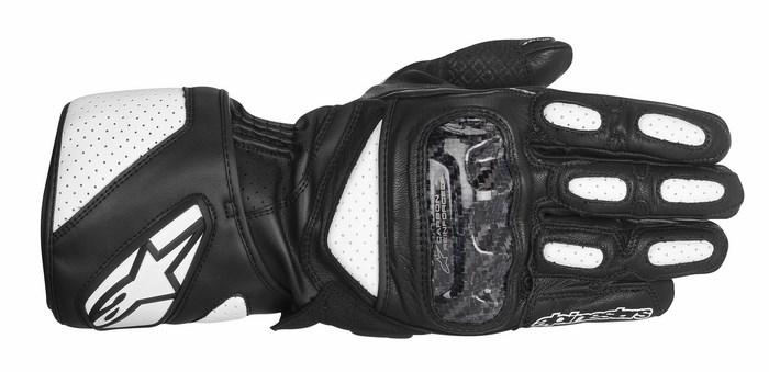 Alpinestars SP-2 gloves black white