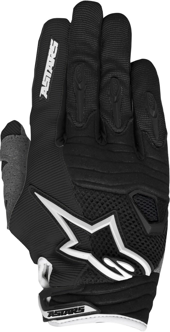 Alpinestars Techstar cross gloves Black White