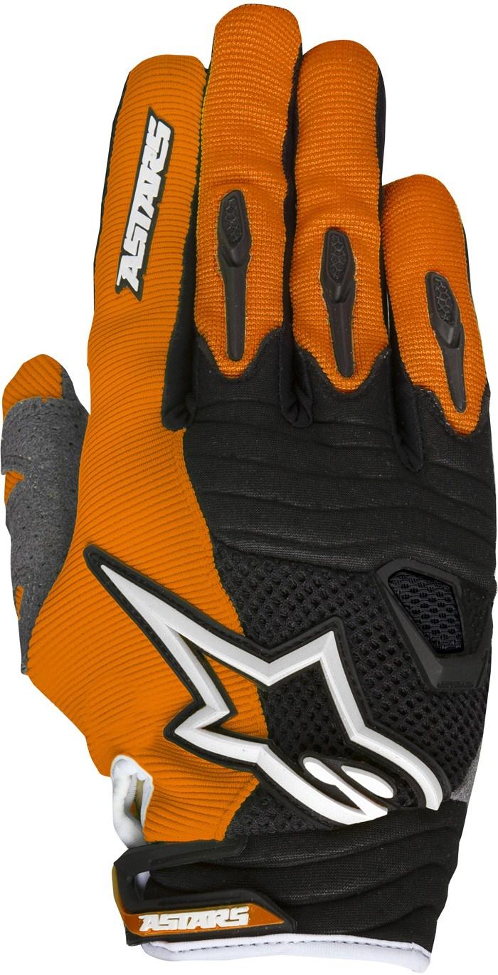 Alpinestars Techstar cross gloves Orange White