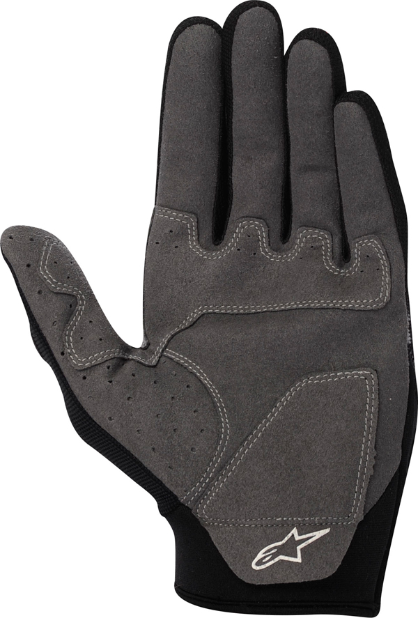 Alpinestars Racer off-road gloves red-black