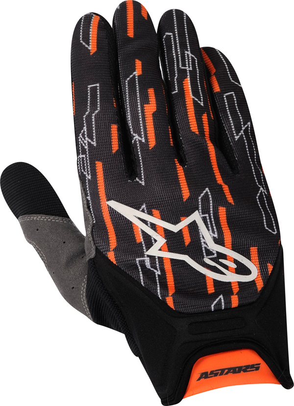 Alpinestars Racer off-road gloves orange-black