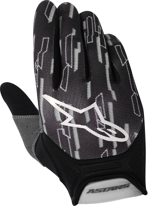Alpinestars Racer off-road gloves gray-black