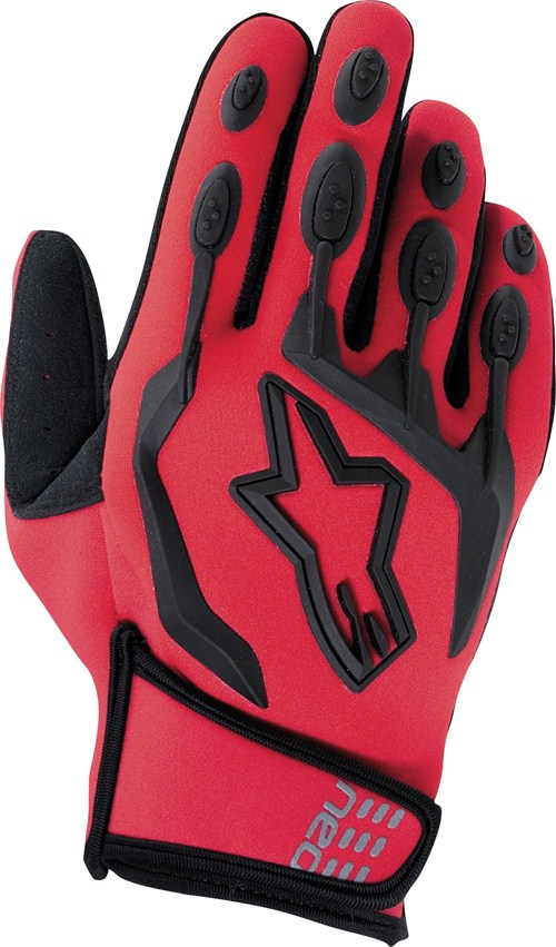 Alpinestars Neo Moto off-road gloves red
