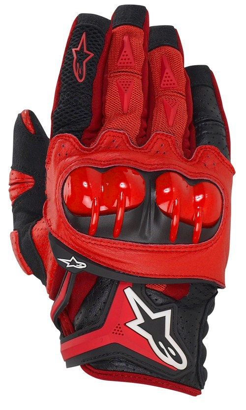 Guanti cross Alpinestars Atlas rossi