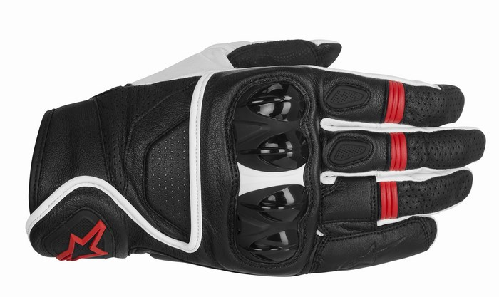 Alpinestars Celer gloves black white red