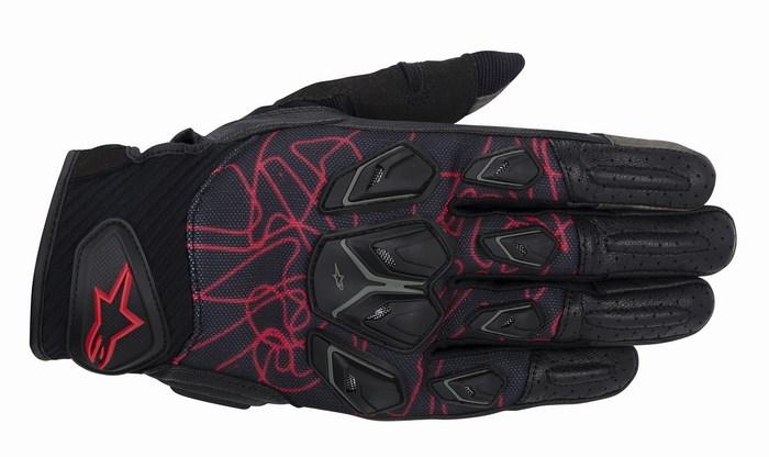 Alpinestars Masai gloves black red