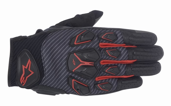 Alpinestars Masai gloves black grey red