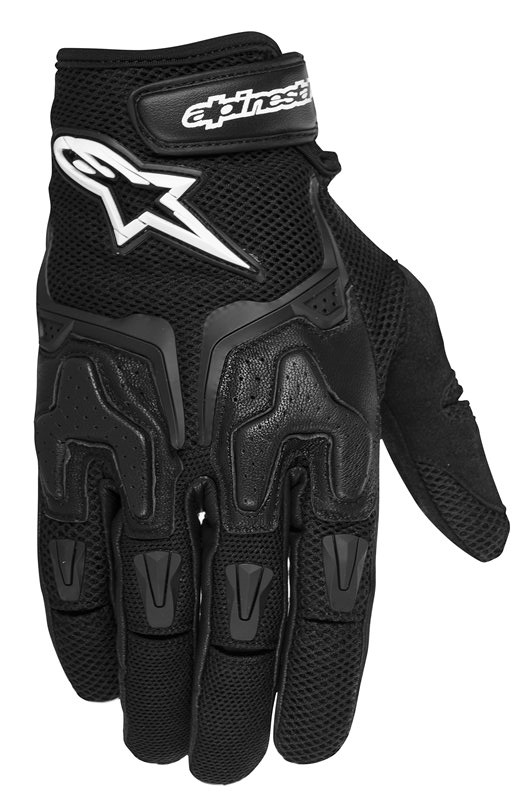 Summer Motorcycle Gloves Alpinestars SMX-3 Air Black