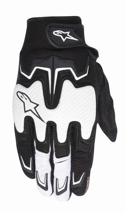 Alpinestars Fighter Air summer gloves Black White