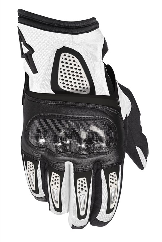 Gloves Alpinestars Thunder Air Black White