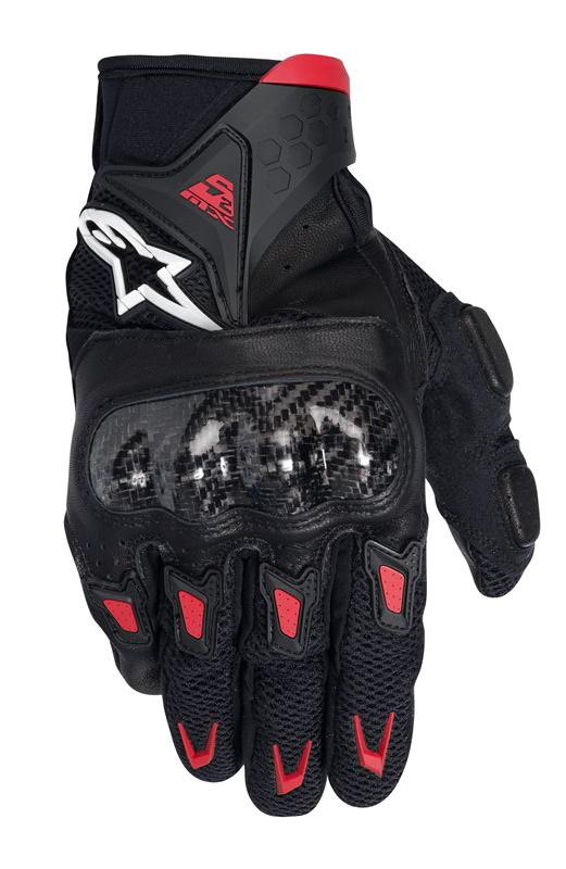 Gloves Alpinestars SMX-2 Air Carbon Black Red