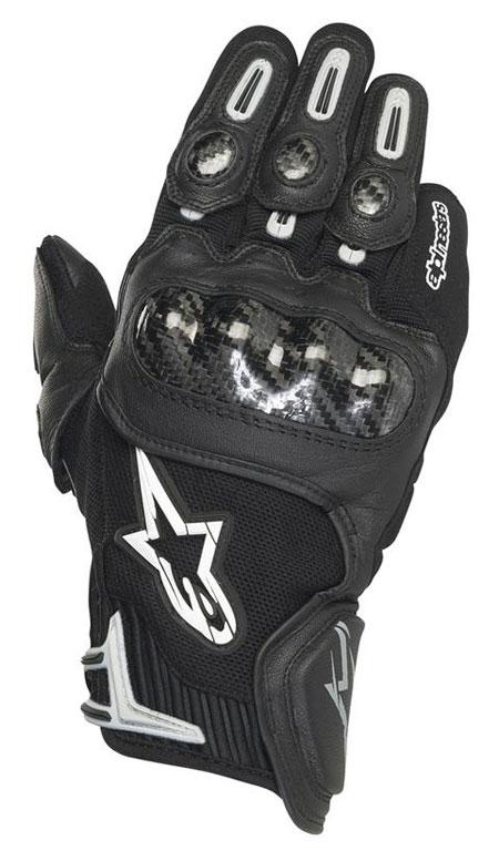 ALPINESTARS SP-X leather gloves col. black grey