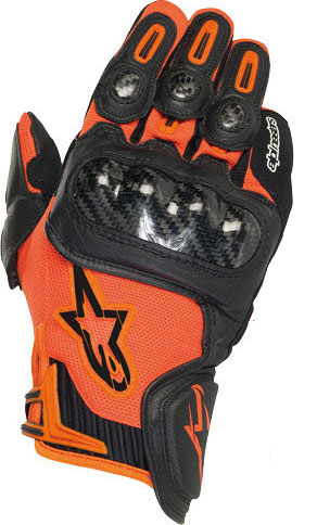 ALPINESTARS SP-X leather gloves col. orange