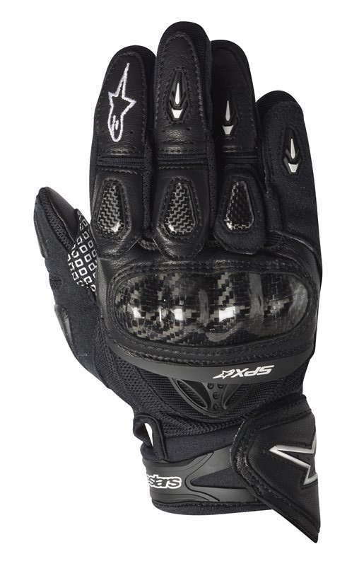 Alpinestars SP-X leather gloves black