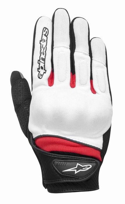 Alpinestars Spartan summer gloves White Red Black