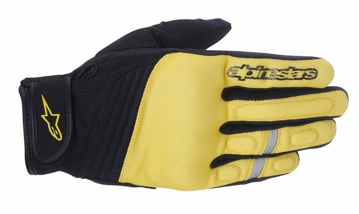 Guanti moto Alpinestars Asama Air Hi Viz Yellow Phantom