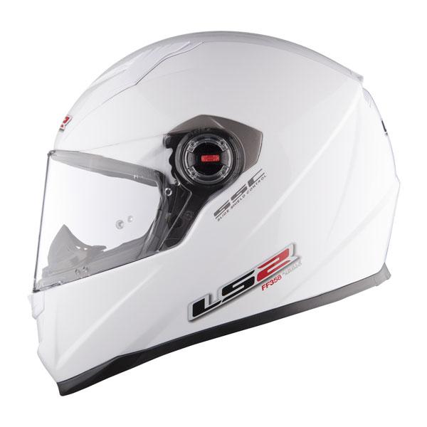 Casco integrale LS2 FF358 Concept Bianco