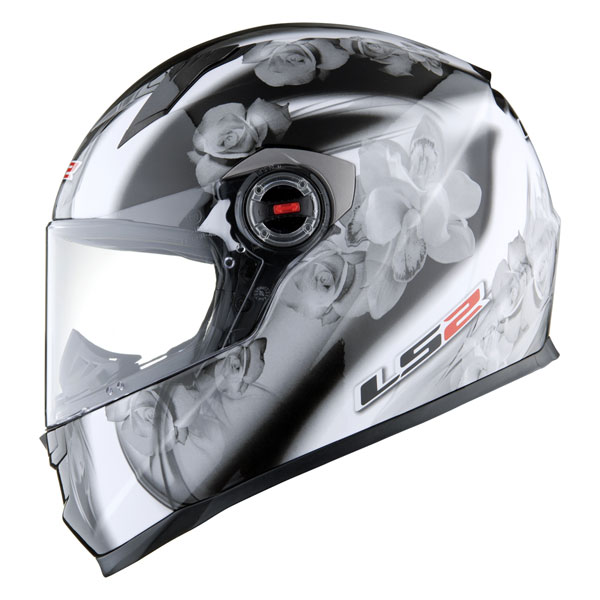 Casco integrale LS2 FF358 Chic nero silver