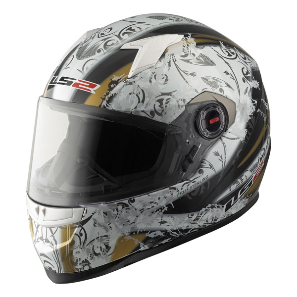 Full face helmet LS2 FF358 Sterling white black
