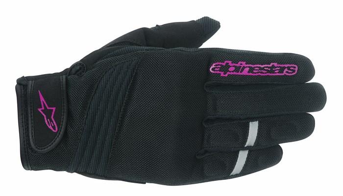 Alpinestars Stella Asama Air Black Rose Violet gloves
