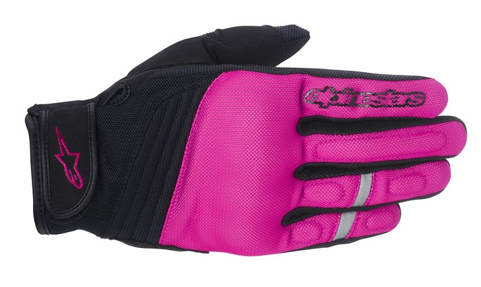 Alpinestars Stella Asama Air Rose Violet Phanton gloves