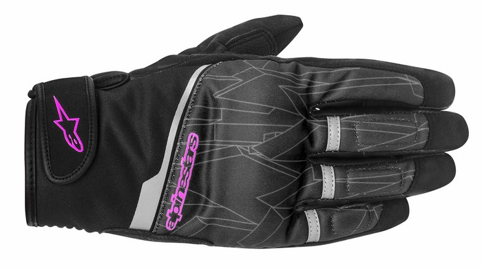 Alpinestars Stella Haku Black Rose Violet gloves