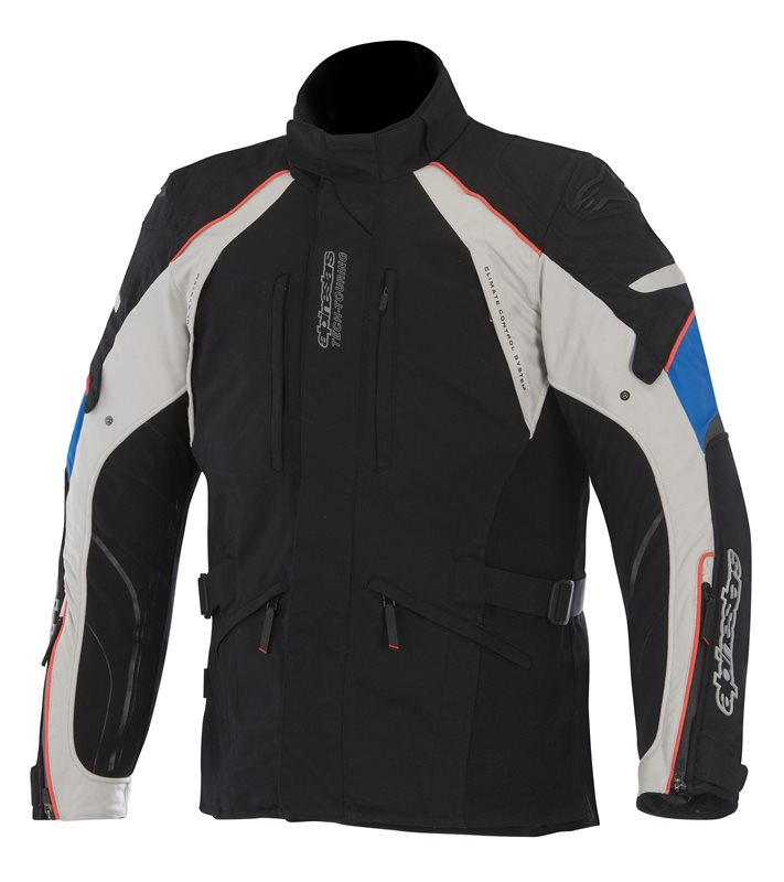 Alpinestars New Land GoreTex jacket Black Grey Blue