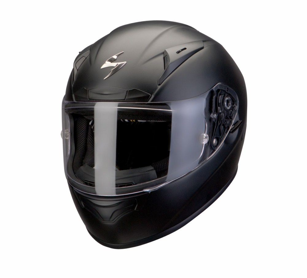 Scorpion Exo 2000 Evo Air Solid full face helmet matte black