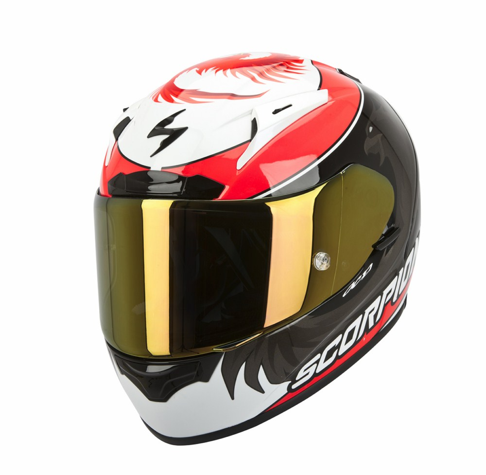 Scorpion Exo 2000 Evo Air full face helmet Replica Masbou