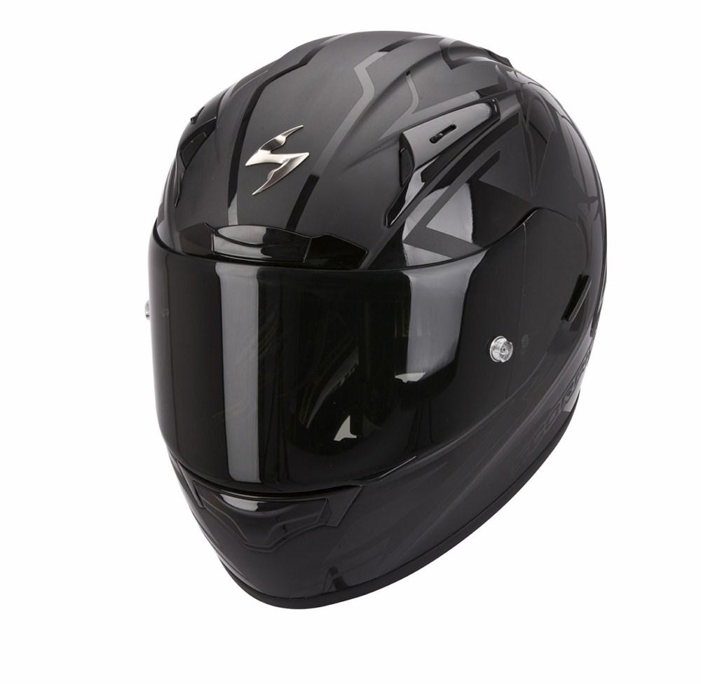 Scorpion Exo 2000 Evo Air Track full face helmet matte black
