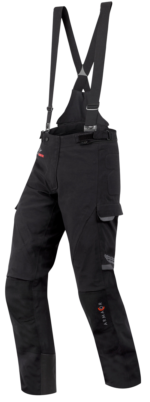 Pantaloni moto Alpienstars Tech Road Gore-Tex neri