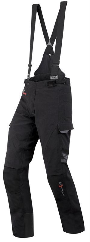 Motorcycle trousers Alpienstars Tech Road Gore-Tex Black Short A