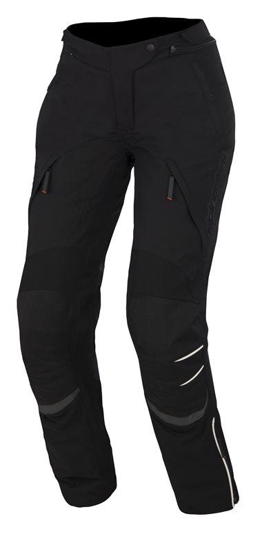 Pantaloni moto donna Alpinestars Stella New Land GoreTex Nero