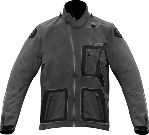 Alpinestars Erzberg Waterproof For Bns off-road jacket gray