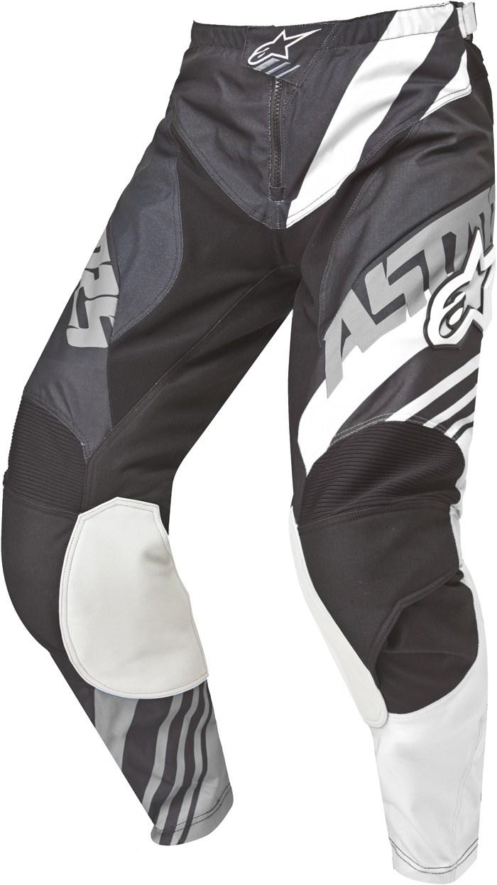 Alpinestars Racer Supermatic pants cross Black White Grey
