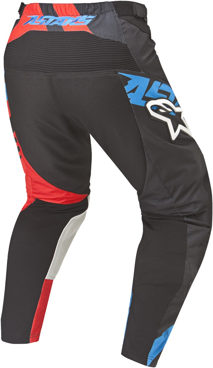 Alpinestars Racer Supermatic pants cross Black Red Blue