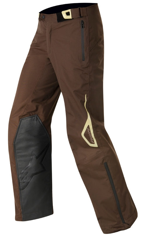 Pantaloni cross Alpinestars Erzberg Waterproof marrone-sabbia