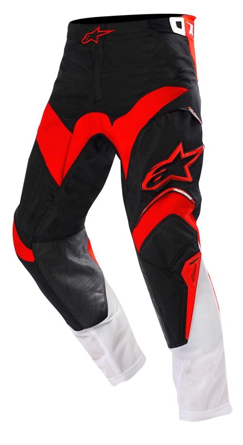 Pantaloni cross Alpinestars Venture nero-rosso