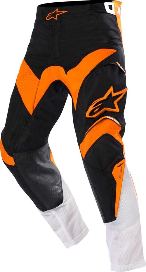 Pantaloni cross Alpinestars Venture nero-arancio