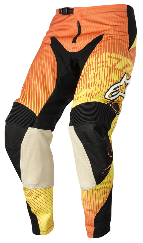 Alpinestars Charger Pants Orange Red cross