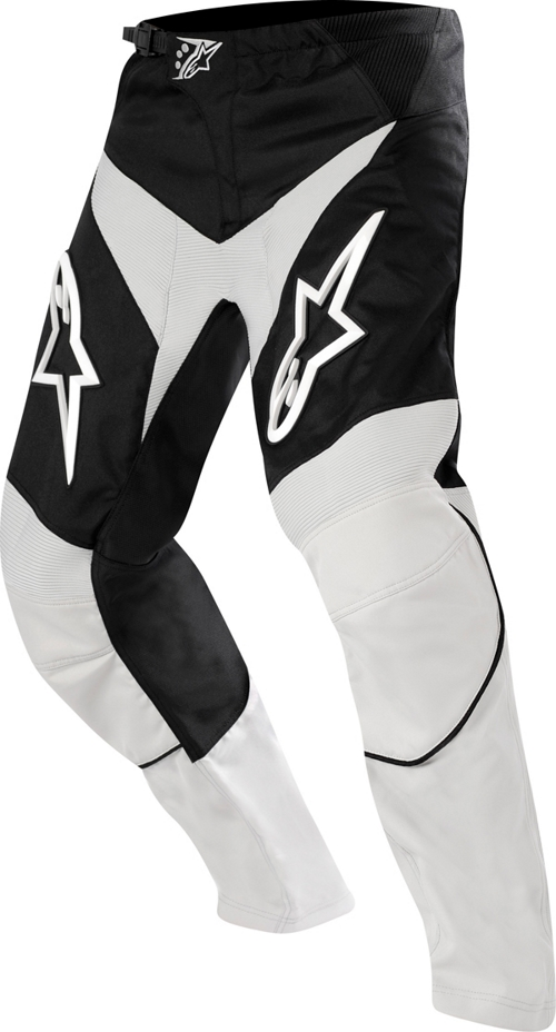 Pantaloni cross bambino Alpinestars Youth Racer grigio-nero