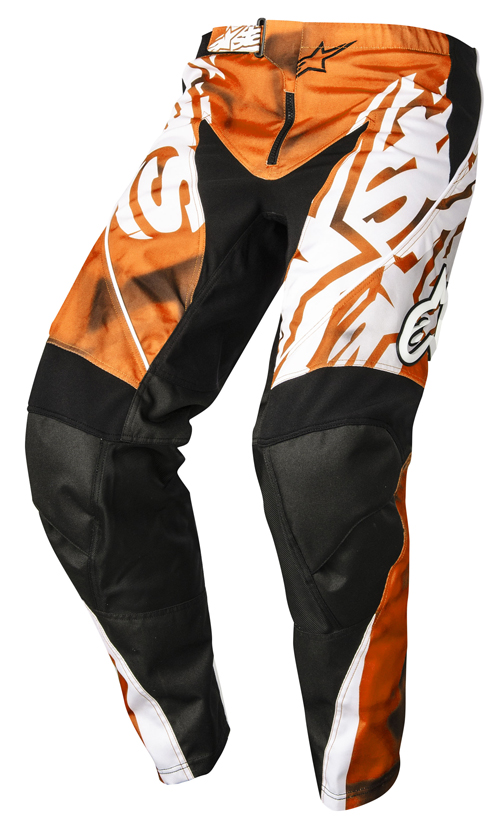 Cross Alpinestars Racer Pants Orange Black