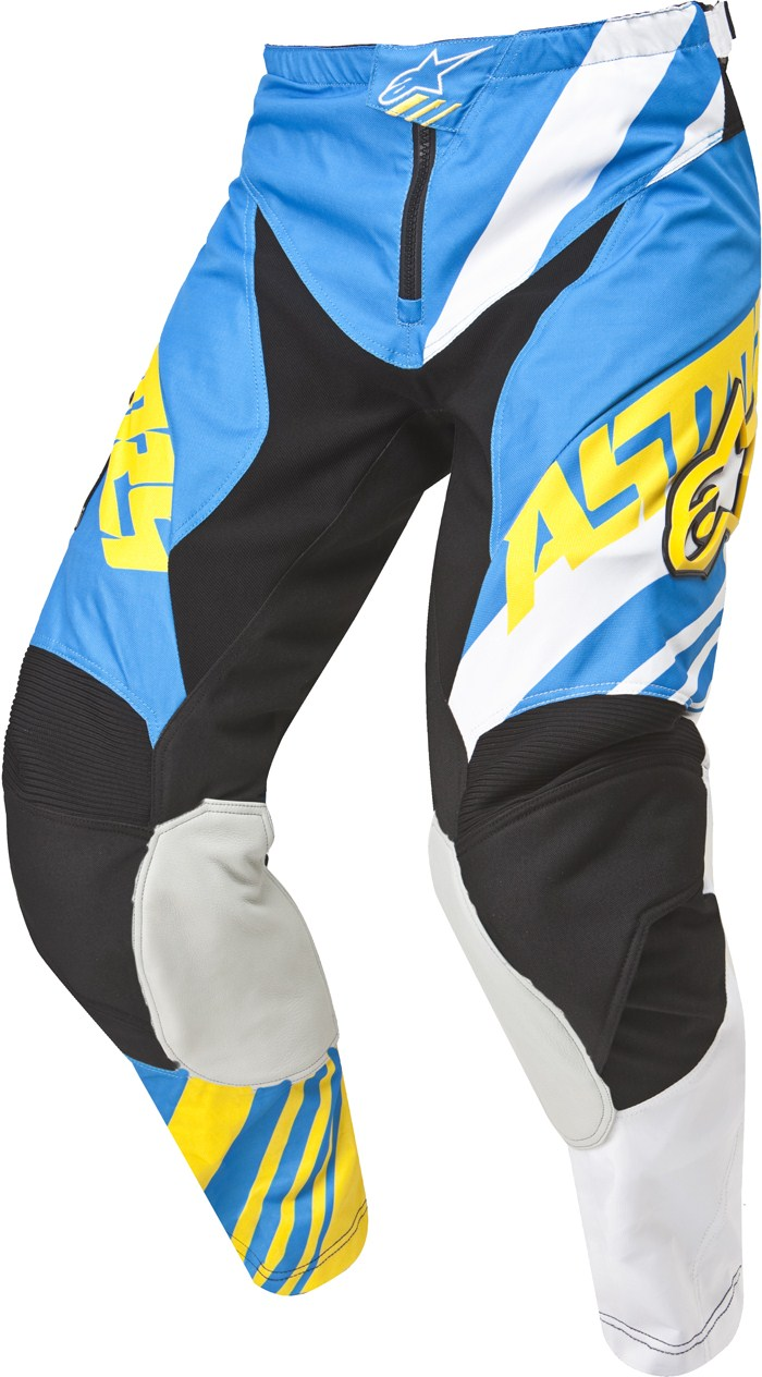 Alpinestars Youth Racer Supermatic cross pants Blue White