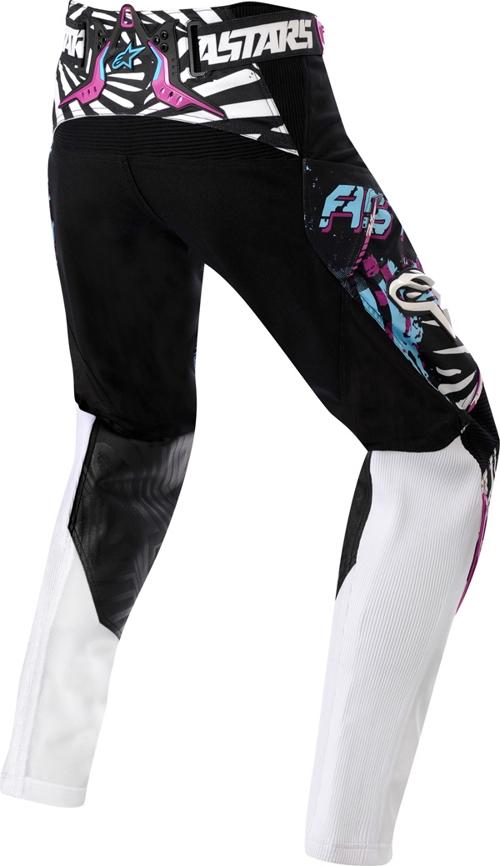 Pantalone cross donna Alpinestars Stella Charger blu-viola-nero
