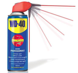 WD-40 500ml, Spray Lubrificante e Sbloccante, Spray Professional