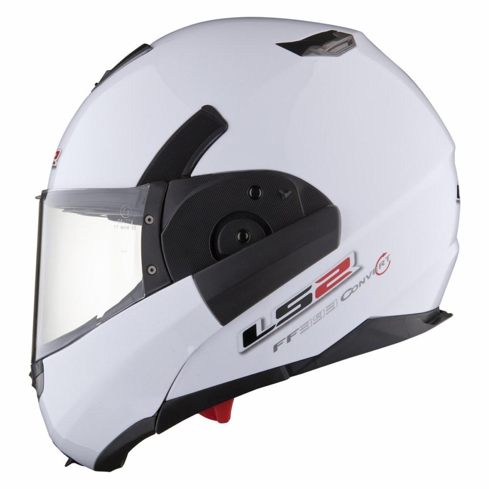 Modular helmet LS2 FF393 Convert White