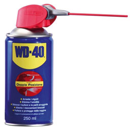 WD-40 250ml Spray Lubricant and unblocking, Dual Action Spray Pr