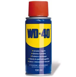 WD-40 100ml Spray Lubricant and unblocking, Mini Format